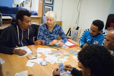 Mama Evas Deutschunterricht für Eritreer